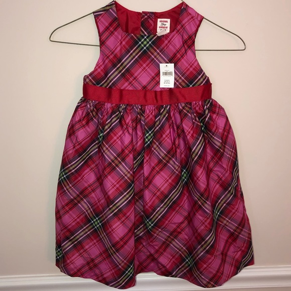 GAP Other - Gap pink red plaid dress NEW 4